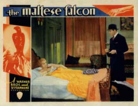 1931 maltese falcon lobby card - queer films blogathon