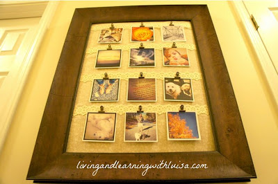 DIY Instagram Photo Frame and Display