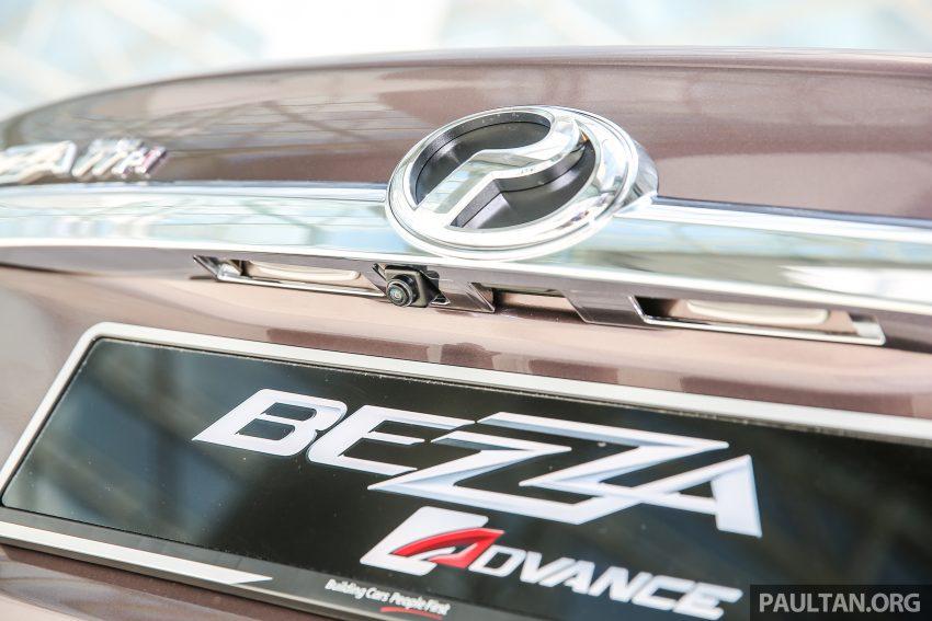 Gambar Perodua Bezza Advance 1.3 (Bahagian Luar)