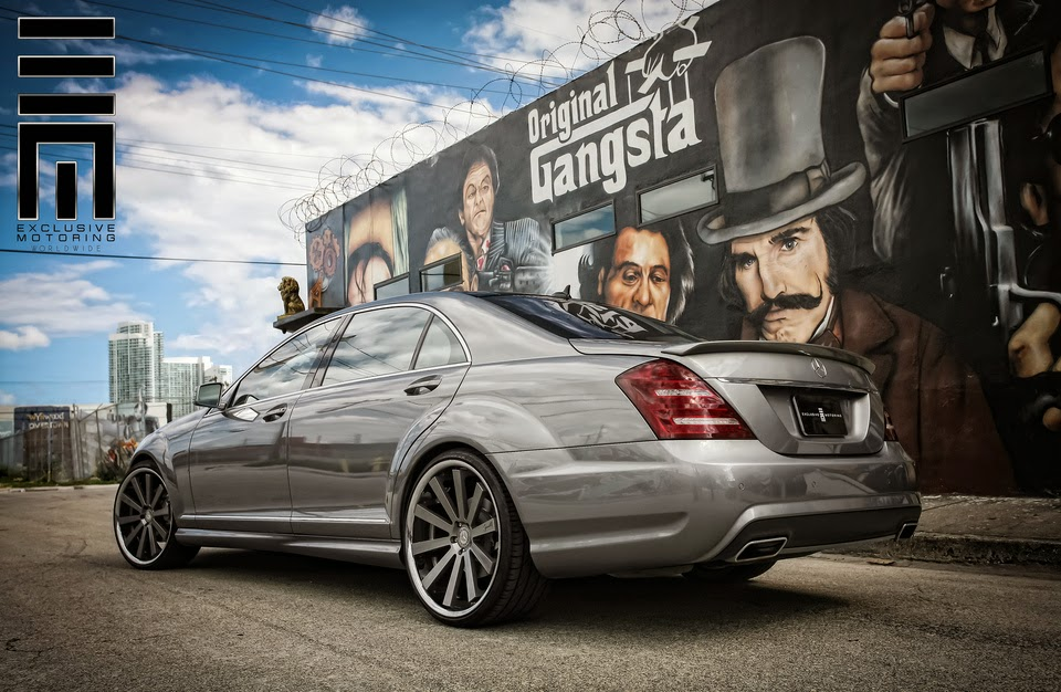 Mercedes Benz Gl Class >> Mercedes-Benz S550 on Gianelle Designs Santo-2SS Custom ...
