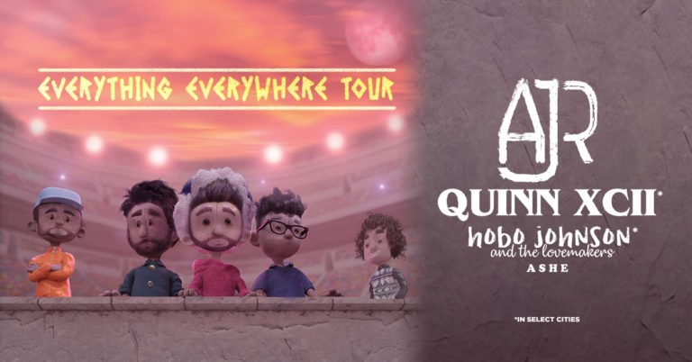 AJR and Quinn XCII Announce Everything Everywhere Tour