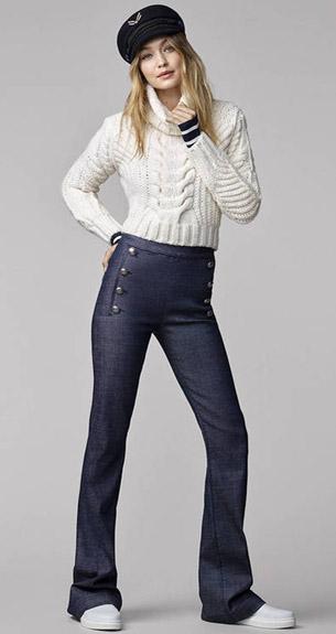 moda mujer otoño invierno Tommy Hilfiger colección Gigi