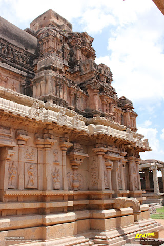 Hazara Rama temple in Hampi, Ballari district, Karnataka, India
