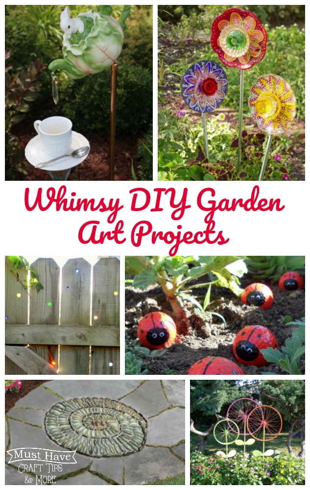 Whimsy Diy Garden Projects Mine For The Making