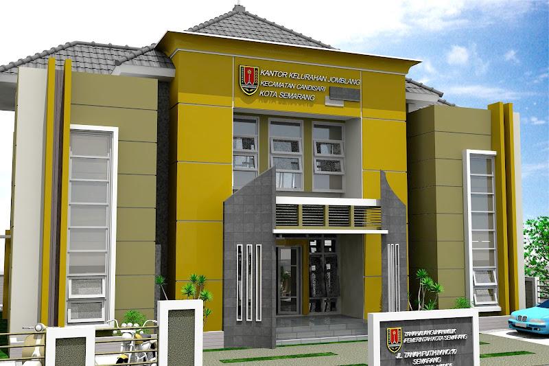 Desain Kantor Kecamatan Referensi Desain Rumah