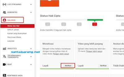 Daftar Google AdSense Lewat YouTube