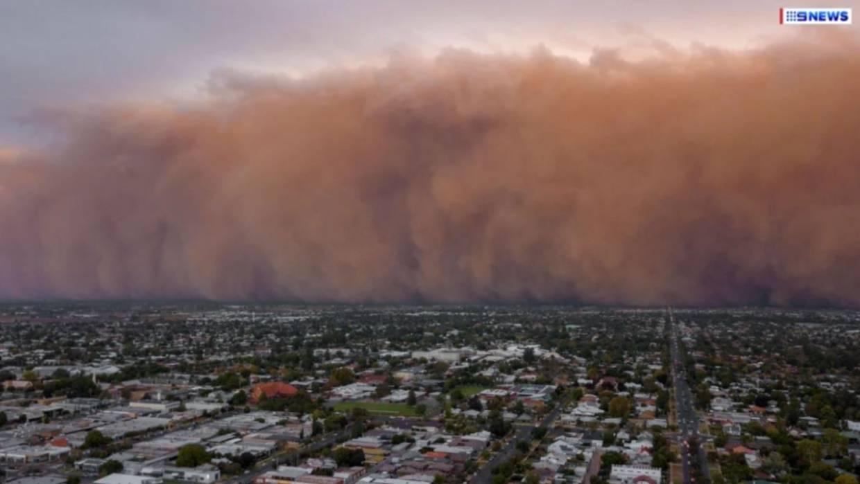 Sciency Thoughts: Dust storm envelops town of Mildura in ...