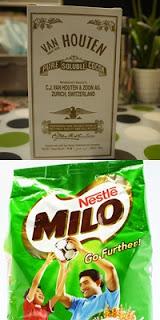 Serbuk koko atau milo