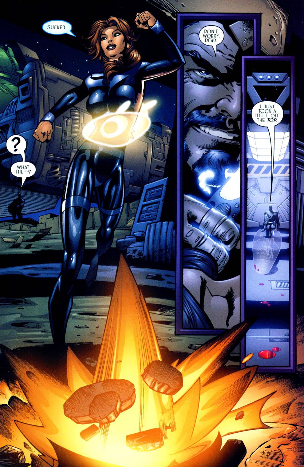 Read online Sigil (2000) comic -  Issue #12 - 21