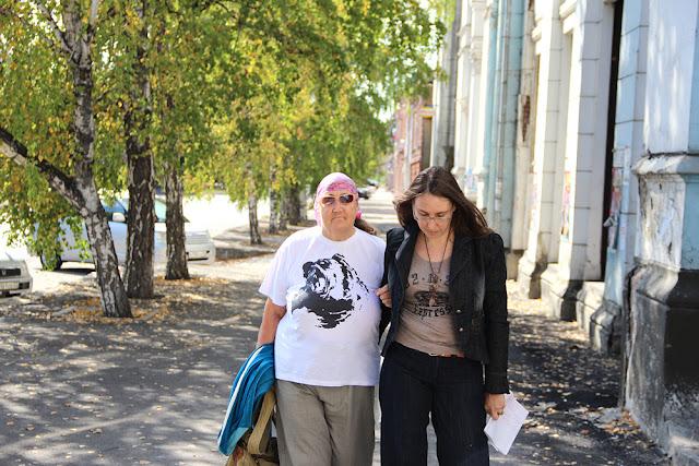 Писатель Ганова Людмила с дочерью поэтом Кет Ган Ket Gun (Цурикова Екатерина)