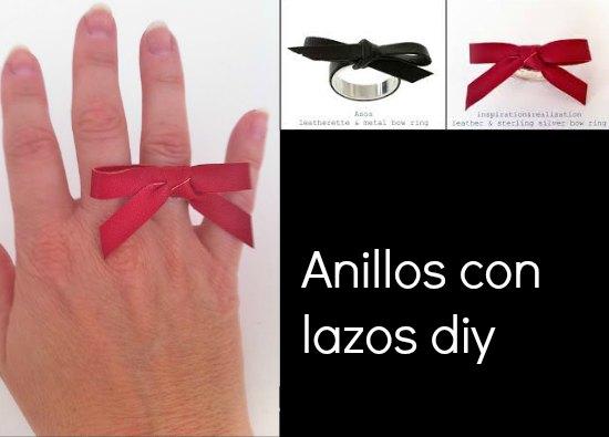 anillos, sortijas, lazos, bisutería, manualidades, tutoriales, reciclar