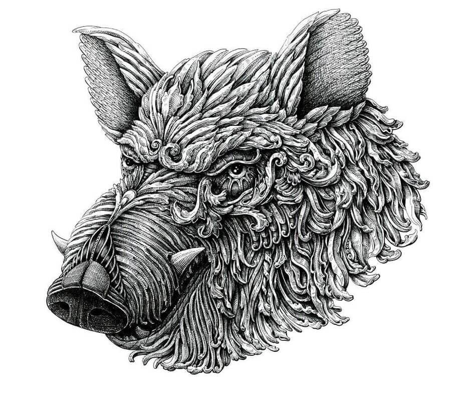 05-Wild-boar-Alex-Konahin-www-designstack-co