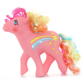 My Little Pony Stripes Year Eight Rainbow Curl Ponies G1 Pony