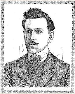 Dr. Antônio Paulino de Almeida, quando jovem.