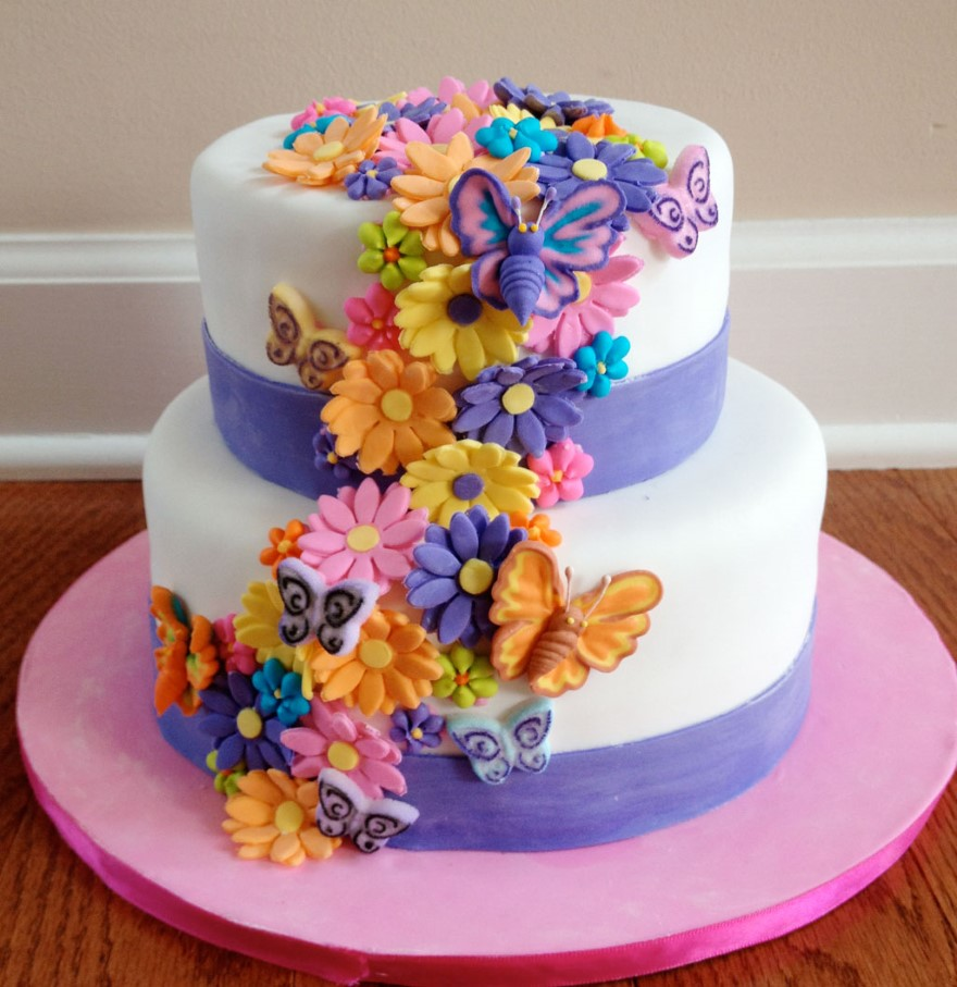 Birthday cake flowers wishes love birthday cake flowers izmirmasajfo
