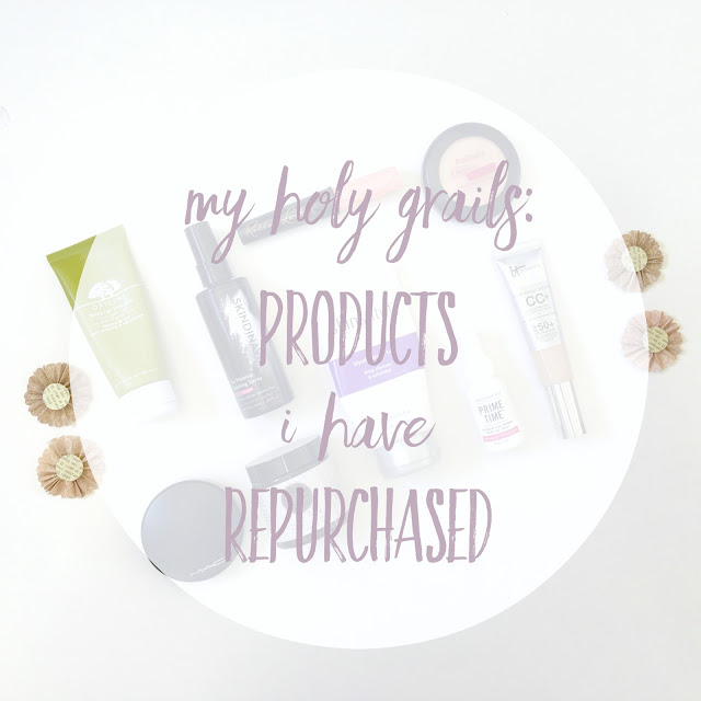 Products that I will repurchase
