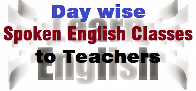 Spoken English to Teachers,english grammar
