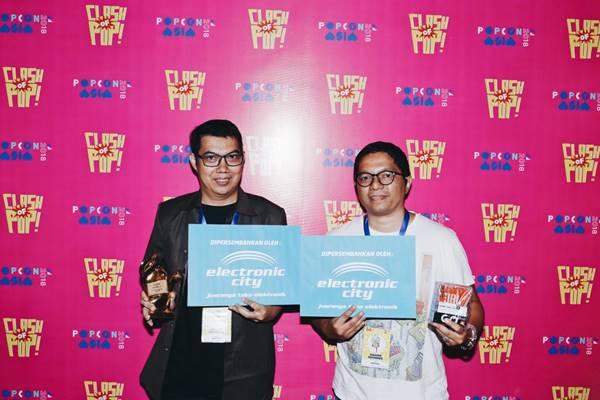 pemenang  Comic of the Year popcon award 2018
