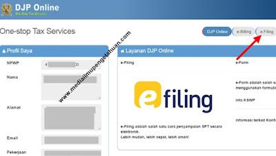 e-Filing DPJ Pajak Online