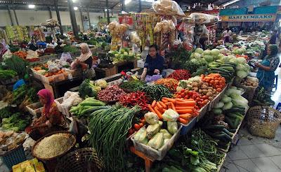 Harga Sembako Di Pasar - Naik Menjelang Puasa