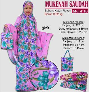 Grosir Mukenah Bali cantik -saudah motif 16