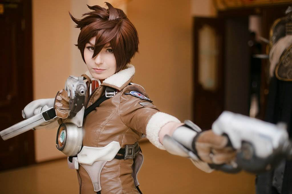Cosplay Tracer (Lena Oxton) - Overwatch