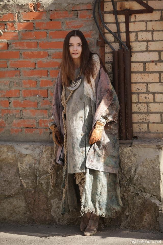 платье в стиле постапокалипсис
