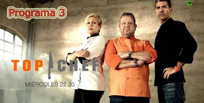 Programa 3 de Top Chef 4, miercoles 1 de marzo de 2017