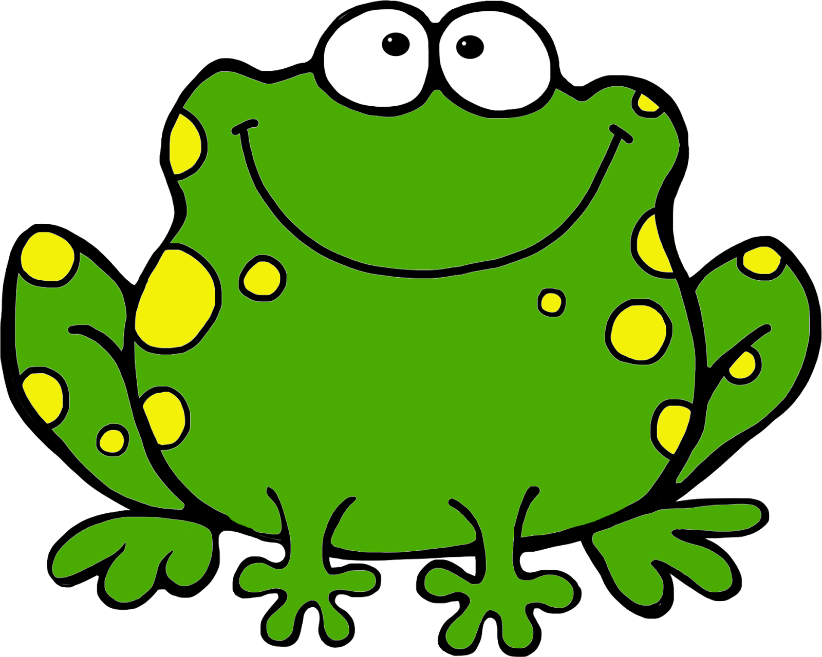 green frog clipart - photo #2