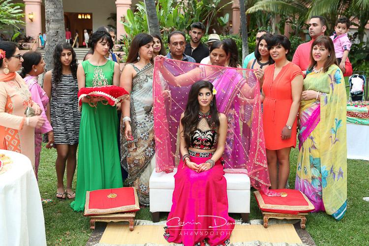 Hawaii Waikiki Beach Sikh Wedding Pictures Honolulu Punjabi Rituals Photography Jaago Maiya Vatna Mehndi Sangeet Chunni