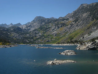 Lake Sabrina, Eastern Sierras, California