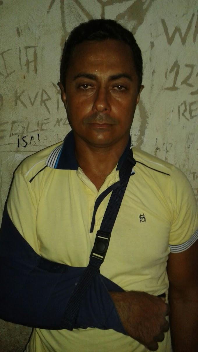 Caxias: Acusado de homicídio vai á delegacia e acaba preso