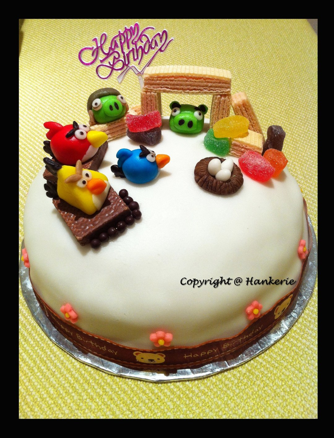 1st Ever Angry Birds Birthday Cake Hankerie