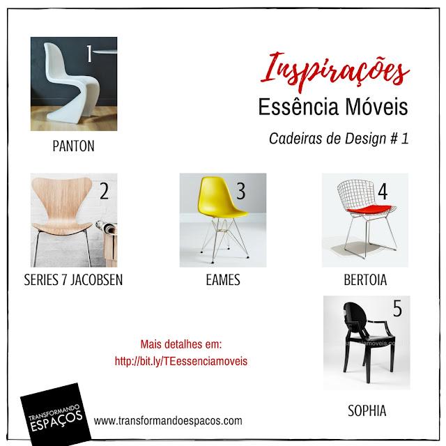 15 ideias de cadeiras de design lindas e apaixonantes!