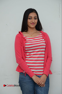 Telugu Actress Mouryani Latest Pos in Blue Denim Jeans  0076.JPG