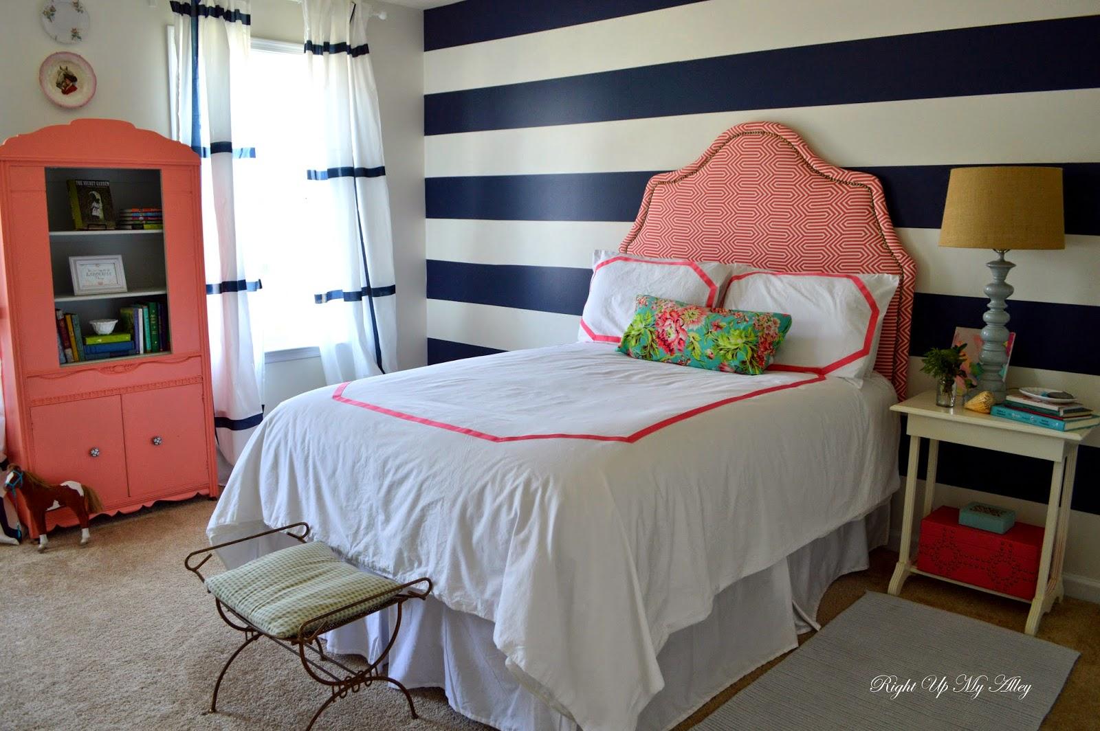 Right Up My Alley: Week 6: Tween Bedroom Makeover Reveal