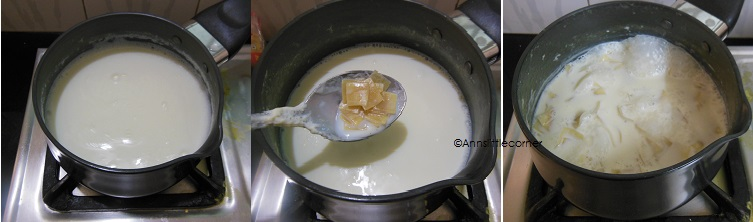 How to make Pal Ada Payasam - Step 2