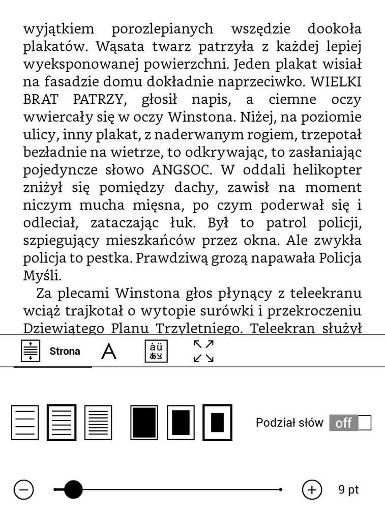 PocketBook Touch HD 3 – najszersze marginesy