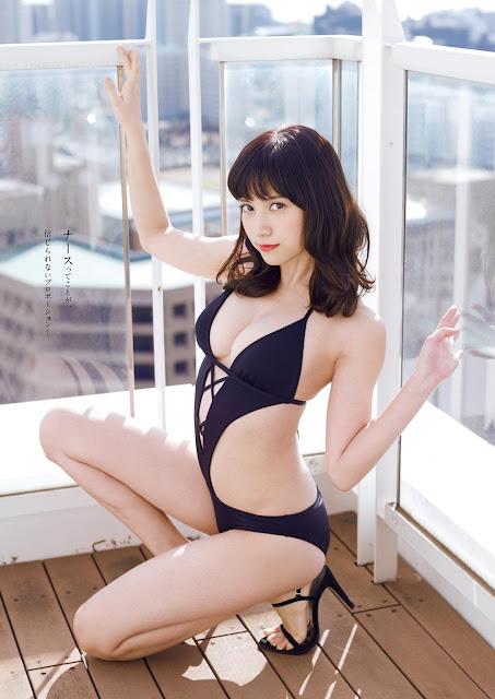 桃月なしこ Momotsuki Nashiko Weekly Playboy No 10 2018 Pictures