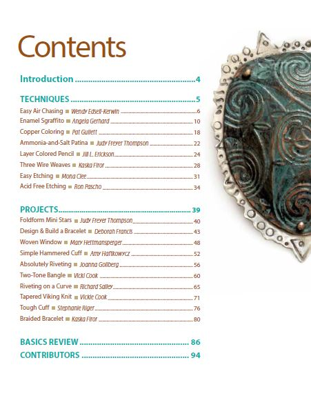 Book Review - Copper Jewelry Collection - The Beading Gem\u0027s Journal