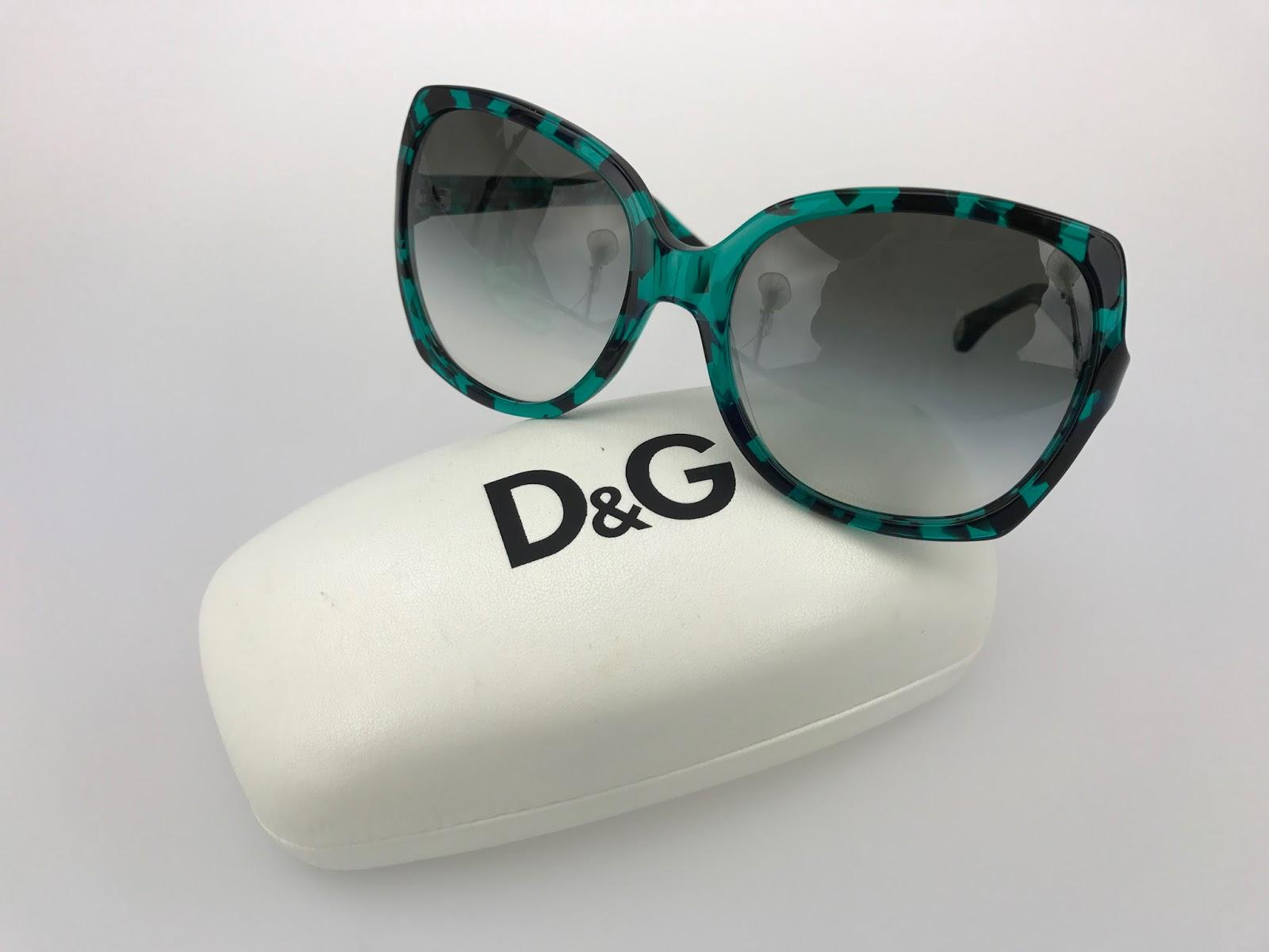 retro okulary przeciwsłoneczne Dolce&Gabbana, najmodniejsze okulary retro vintage na lato 2017