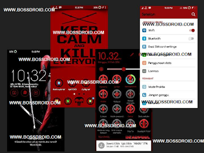 Dead Pool Theme For Asus Zenfone 5
