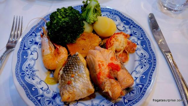 cataplana dr mariscos, prato típico português