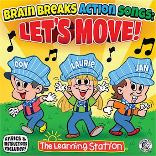Brain Breaks Action Songs: Let's Move by The Learning Station Giveaway