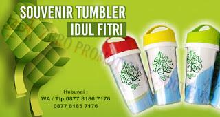 Souvenir tumbler / botol minum Idul Fitri, Ide Souvenir idul fitri, Souvenir Lebaran, Souvenir Tas custom Idul Fitri, Souvenir Mug Idul fitri, botol minum Idul Fitri