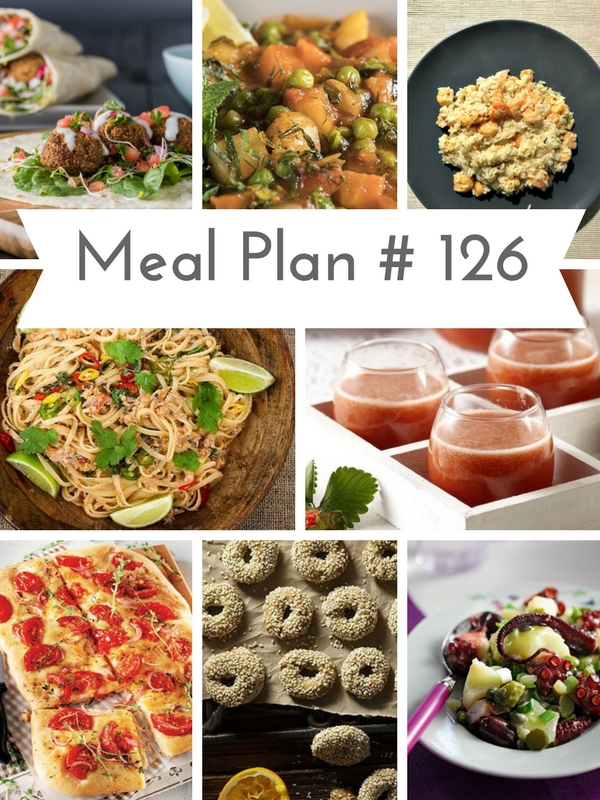 Brand new Weekly Meal Plan loaded with delicious recipes to help you plan out your Holly Week meals! | Ioanna's Notebook