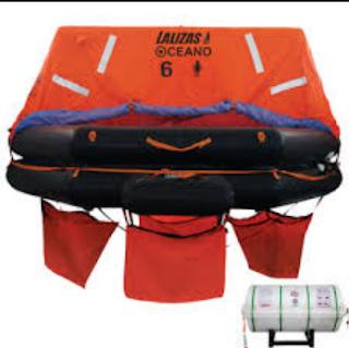 Rakit Penolong Otomatis (inflatable Liferafts)