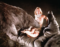 Jessica Lange als Dwan in King Kong 1974