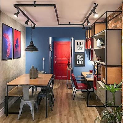 gambar ruang kerja yang keren