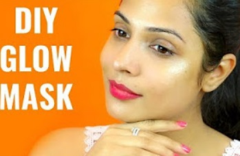 DIY GLOW MASK – Get INSTANT Glowing Face Naturally this Festive Season